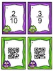Simplify Fractions:  Task Card and QR Code Fun!