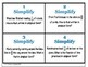 Simplify Fractions Word Problem Task Cards