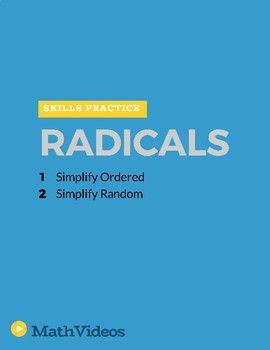 Simplify Radicals - Practice
