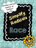 Simplify Radicals Race Game
