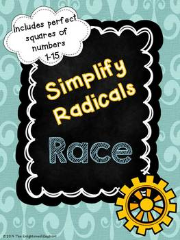 Simplify Radicals Race Game