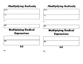 Simplify Radicals with Multiplication and Division