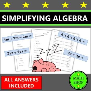 Math - Simplifying Algebra