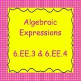 6.EE.3, 6.EE.4, TN 6.3.4, Simplifying Algebraic Expressions