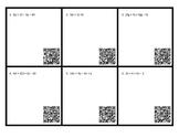 Simplifying Algebraic Expressions Task Cards