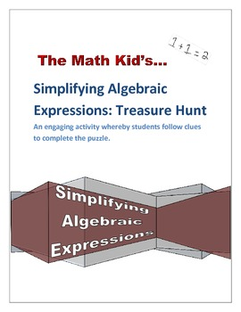 Simplifying Algebraic Expressions: Treasure Hunt