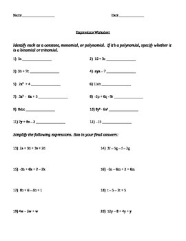 Simplifying Algebraic Expressions and Solving Multi-step E