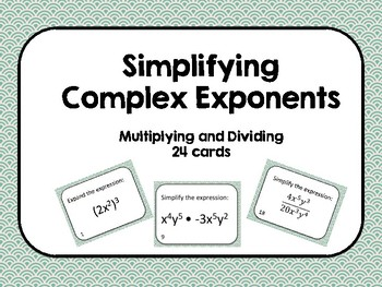 Simplifying Complex Exponents