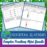 Complex Fractions - Unit Rates - Guided Notes, Worksheets