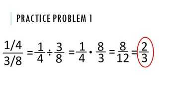 Simplifying Complex Fractions Lesson