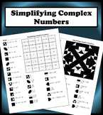 Simplifying Complex Numbers Color Worksheet