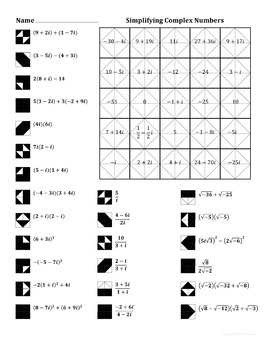 pictures complex number worksheet roostanama. Black Bedroom Furniture Sets. Home Design Ideas