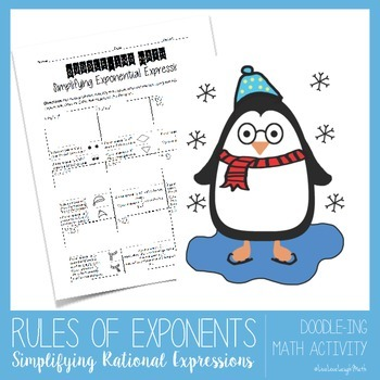 Rules of Exponents: Simplifying Exponential Expressions (Doodle-ing Math)