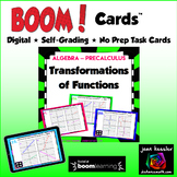Transformations of the Graphs of Functions with BOOM Cards