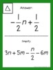 Simplifying Expressions Activity - Scavenger Hunt