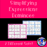 Simplifying Expressions Dominoes CCS 7.EE.1