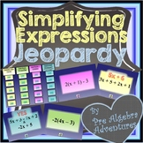 Simplifying Expressions {Combining Like Terms Distributive