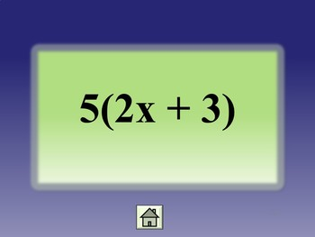 Simplifying Expressions {Combining Like Terms Distributive Property} {algebra 1}