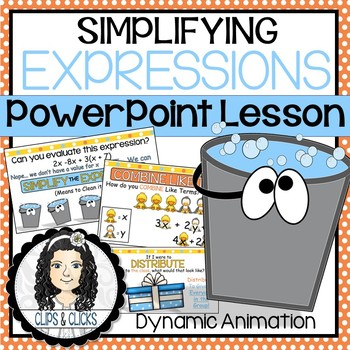 Simplifying Expressions PowerPoint Lesson