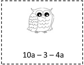 Simplifying Expressions Worksheets {Distributive Property Combining Like Terms}