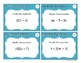 Simplifying Expressions Task Cards (FREEBIE)