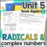 Simplifying Expressions - Unit 5 - Texas Algebra 2 Curriculum