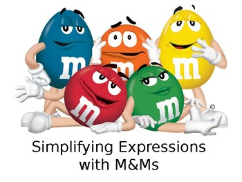 Simplifying Expressions with M&Ms