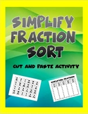 Simplifying Fraction Sort