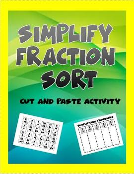 Simplifying Fraction Sort
