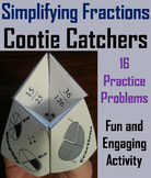 Simplifying Fractions Practice/ Simplifying Fractions Game 3rd 4th 5th 6th Grade