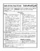 Simplifying Fractions: Complete 7-Page Lesson Packet