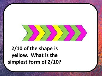Simplifying Fractions - Digital Practice BOOM Cards - 24 Self-checking cards!