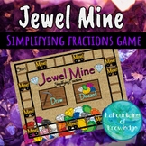 Simplifying Fractions Game - Jewel Mine