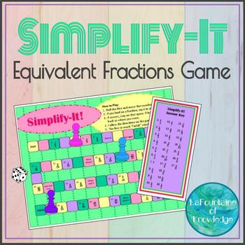 picture relating to Simplifying Fractions Game Printable named Simplifying Fractions Sport Worksheets Instructors Pay back Lecturers