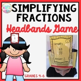 Simplifying Fractions Game - Headbands