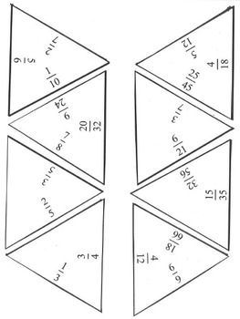 Simplifying Fractions Puzzle