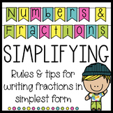 Simplify Fractions Rules