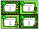 Simplifying Fractions St. Patrick's Day Scoot