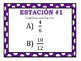 Simplifying Fractions Stations