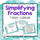 Simplifying Fractions Task Cards