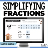 Simplifying Fractions Using Google Slides