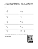 Simplifying Fractions Worksheet and Solutions Video