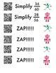 Simplifying Fractions Zapp!! Game