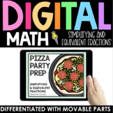 Simplifying Fractions and Equivalent Fractions Practice -