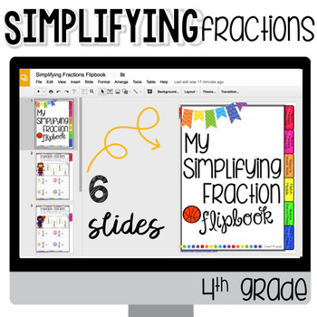 Simplifying Fractions for Google Classroom