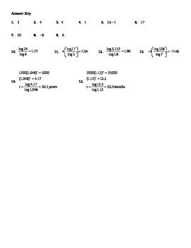 Simplifying Logarithmic Equations #2