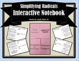Simplifying Radical Expressions Foldable