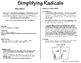 Simplifying Radical Expressions - MATH2MATH