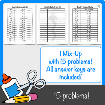 Simplifying Radical Expressions with Coefficients Mix-Up!