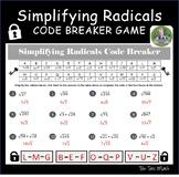 Simplifying Radicals Activity